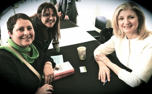 Meeting Arianna Huffington